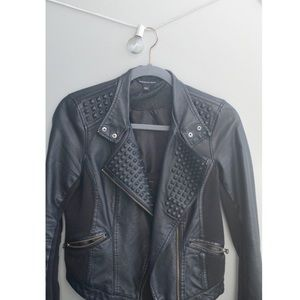 Rock & Republic Black Faux Leather Jacket